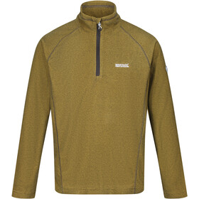 Regatta Montes Fleece LS Top Men grapefruit/black